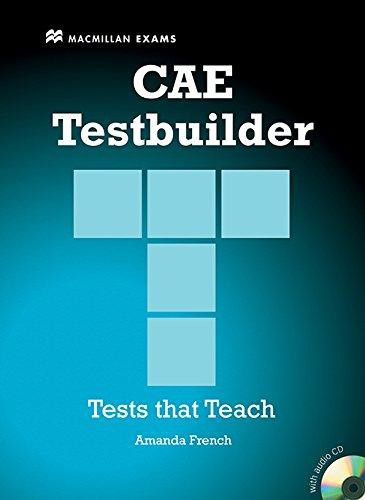 CAE Testbuilder Without Key & Audio CD Pack