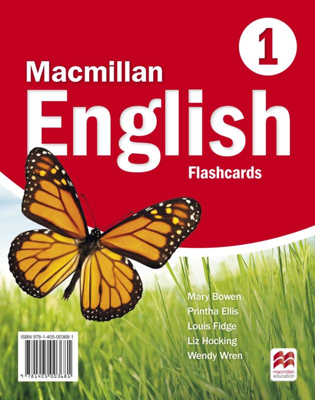 Macmillan English Level 1 Flashcards