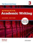 Effective Academic Writing Second Edition 3 Student Book