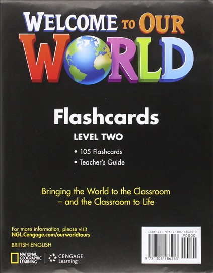 Welcome To Our World 2 Flashcards Set