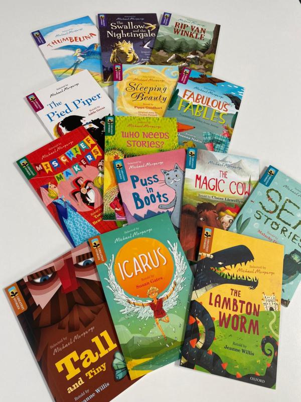 Pakket 14 boekjes Greatest Stories Oxford Reading Owl