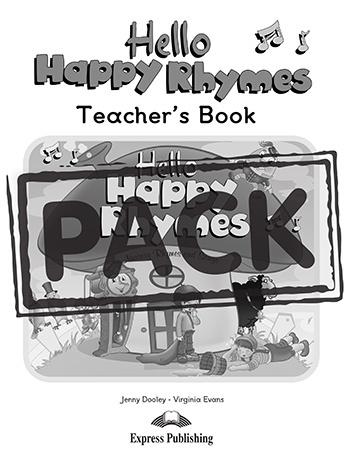 HELLO HAPPY RHYMES TEACHER'S PACK 1 (DVD PAL)