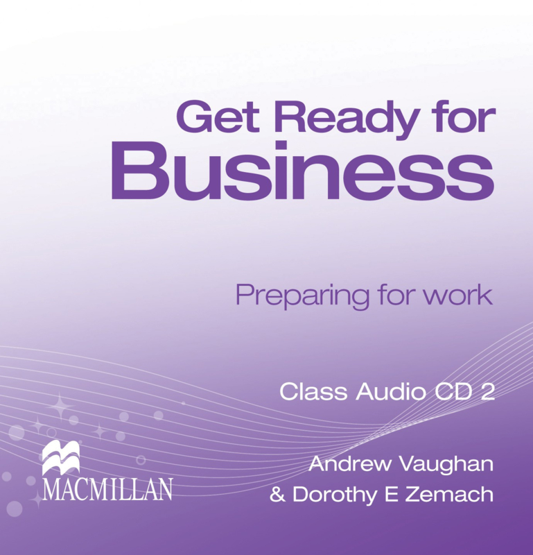 Get Ready for Business Level 2 Class Audio CD (3)