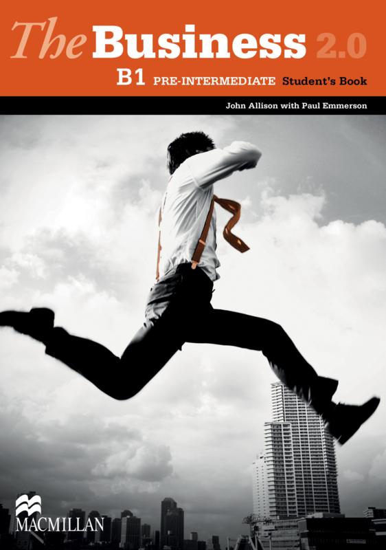 The Business 2.0 Pre-intermediate B1 Student's Book