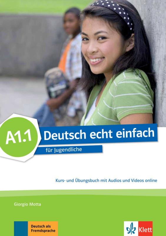 Deutsch echt einfach A1.1 Studentenboek en Oefenboek met Audio en Video online