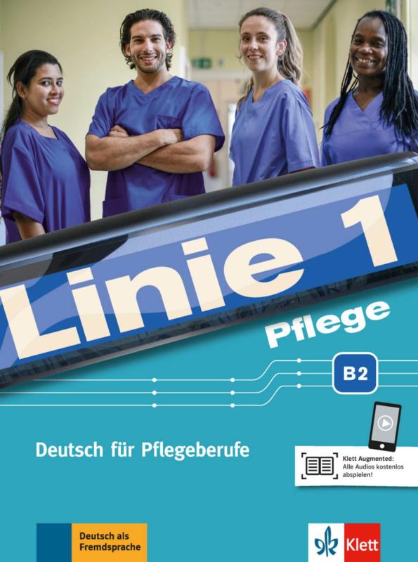 Linie 1 Pflege B2 Studentenboek en Oefenboek met Audio
