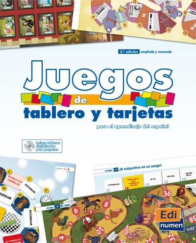 Juegos de tablero y tarjetas + CD-ROM - Nueva edición