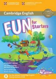 Fun for Starters, Movers and Flyers Fourth edition Starters Student's Book with Home Fun booklet and online activities