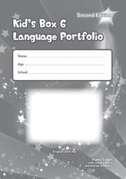 Kid's Box Updated Second edition Level6 Language Portfolio
