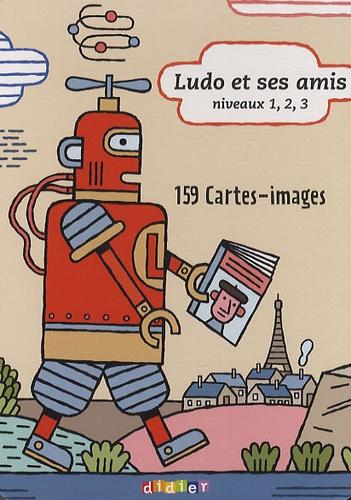 Ludo et ses amis Niveaux 1, 2, 3 - 159 Cartes-images