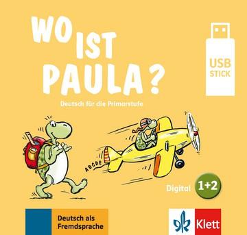 Wo ist Paula? 1+2 Lehrwerk digital auf USB-Stick