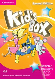 Kid's Box Updated Second edition Starter Interactive DVD with Teacher's Booklet