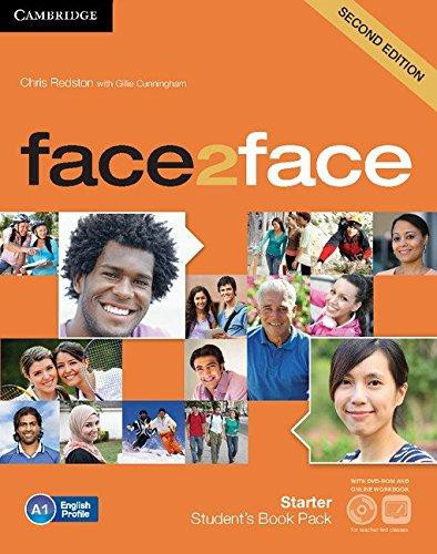 face2face Second edition Starter Student's Book with DVD-ROM and Online Workbook Pack