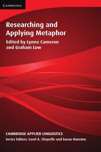Researching and Applying Metaphor Paperback