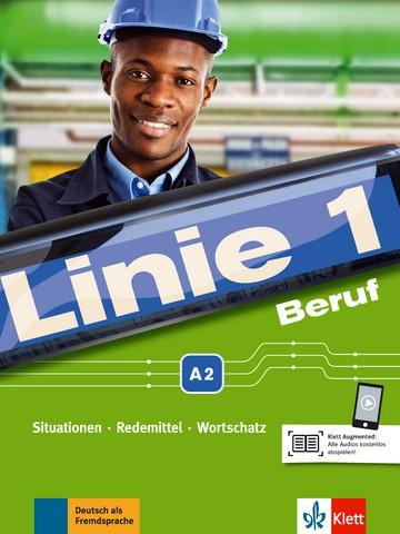 Linie 1 Beruf A2 Studentenboek en Übungsbuch met Audios