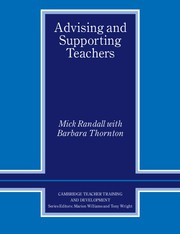 Advising and Supporting Teachers Paperback