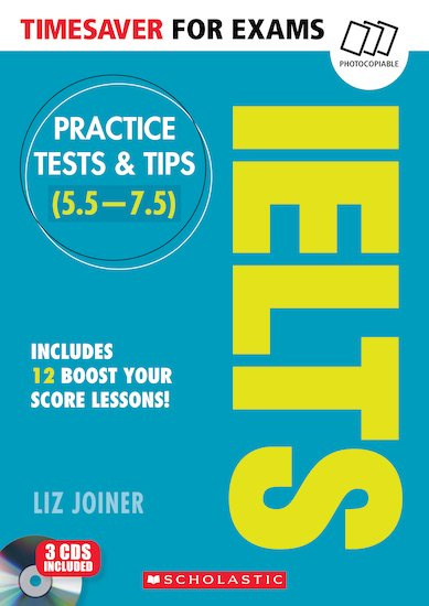 Timesaver for Exams: IELTS Practice Tests & Tips + 3 CDs