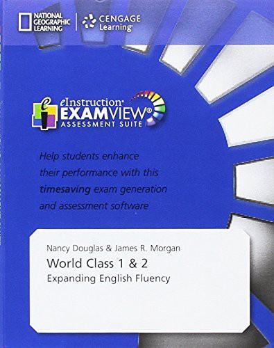 World Class 1 & 2 Examview Cd-rom