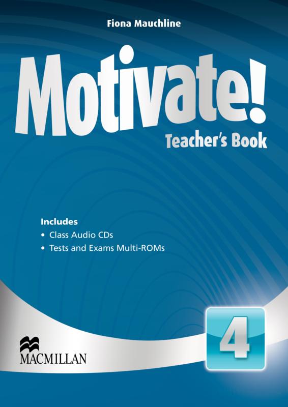 Motivate! Level 4 Teacher's Book & Audio CD & Test CD Pack