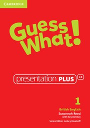 Guess What! Level1 Presentation Plus DVD-ROM
