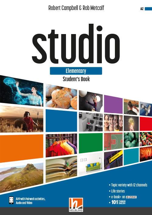 STUDIO elementary Student's Book + e-zone