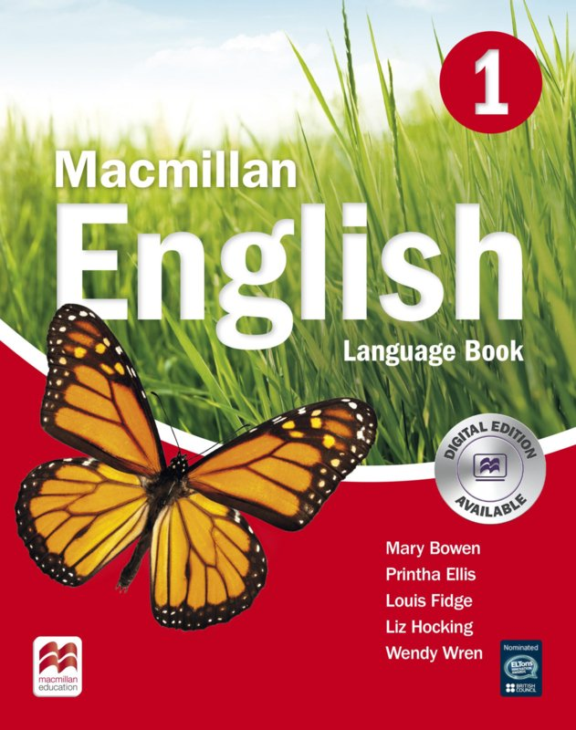 Macmillan English Level 1 Language Book