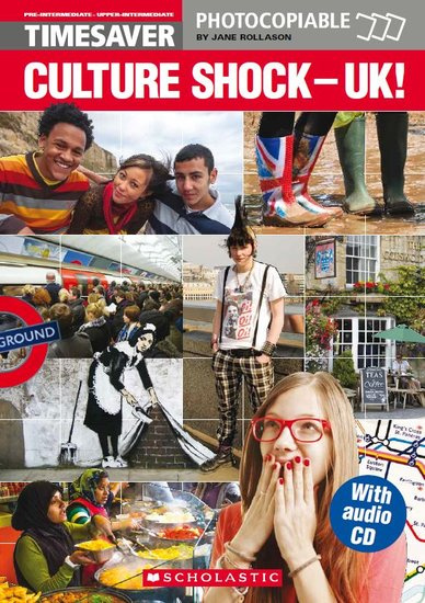 Culture Shock - UK! (with CD)