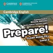 Cambridge English Prepare! Level 2 Class Audio CDs (2)
