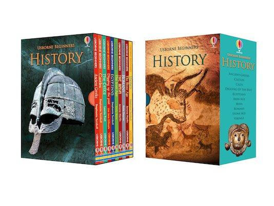Usborne Beginners: History Box Set (10 books)