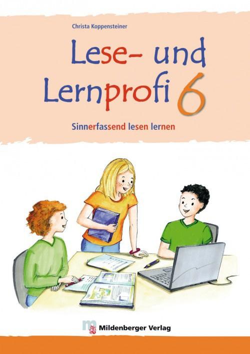 Lese- en Lernprofi 6 – Schülerarbeitsheft – silbierte Ausgabe Leseheft