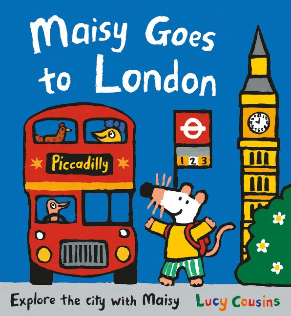 Maisy Goes To London (Lucy Cousins)