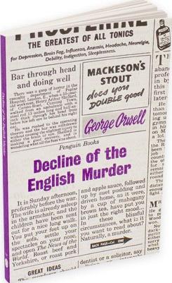 Decline Of The English Murder (George Orwell)