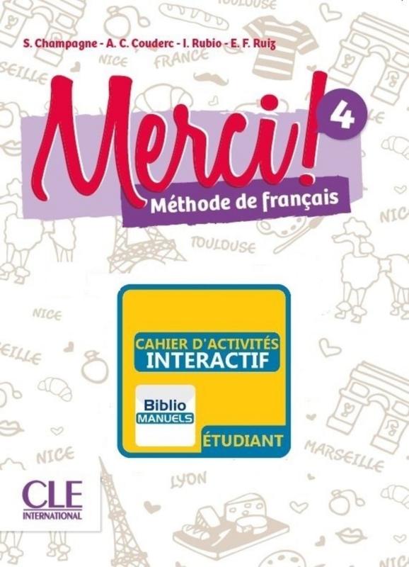 Merci ! 4 - Version numérique élève - Cahier d'activités