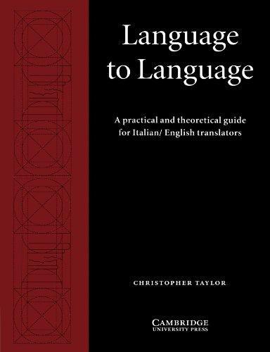 Language to Language Paperback