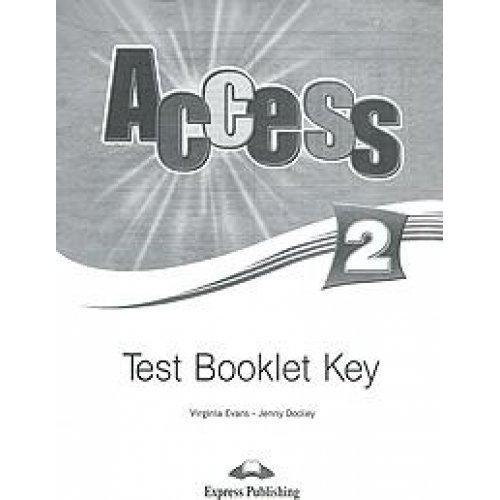 Access 2 Test Booklet Key (international)