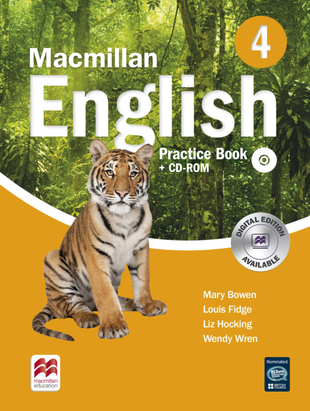 Macmillan English Level 4 Practice Book & CD-ROM Pack