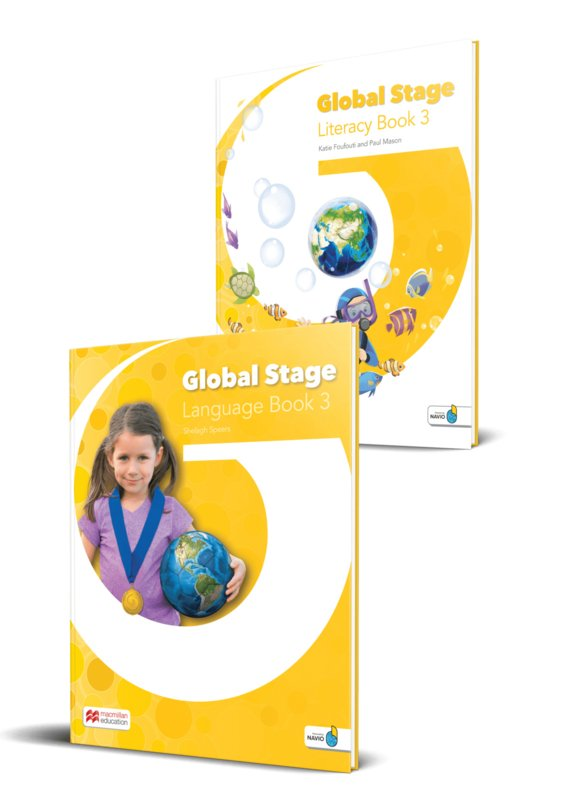 Global Stage Level 3 Literacy Book and Language Book with Navio App