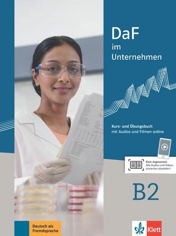 DaF im Unternehmen B2 Studentenboek en Übungsbuch met Audios en Filmen online