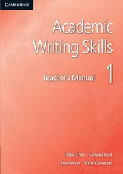 Academic Writing Skills Level 1 Teacher's Manual