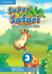 Super Safari British English Level3 Class Audio CDs (2)