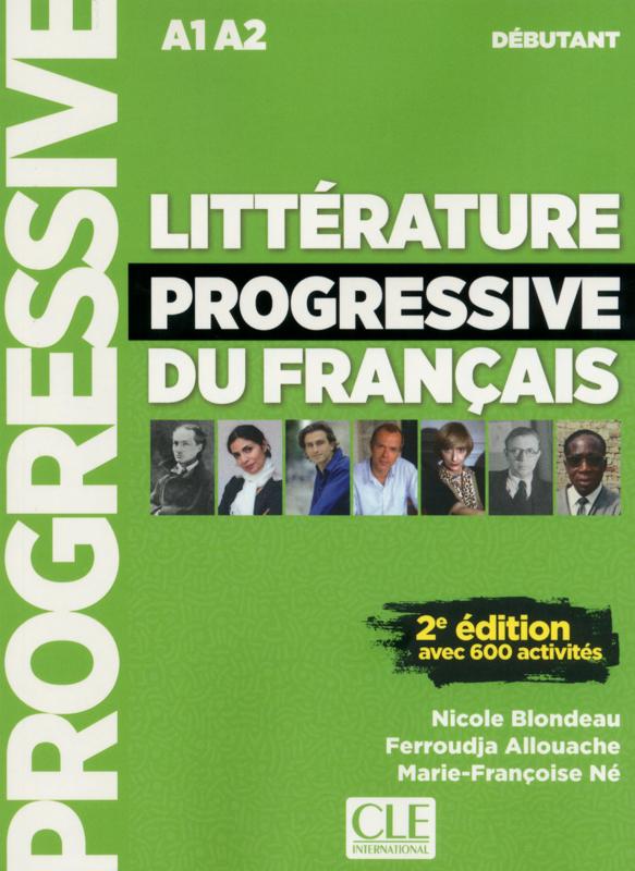 Littérature progressive du français - Niveau débutant - Livre + CD - 2ème édition - Nouvelle couverture
