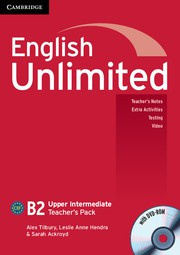 English Unlimited UpperIntermediate Teacher's Pack (Teacher's Book with DVD-ROM)