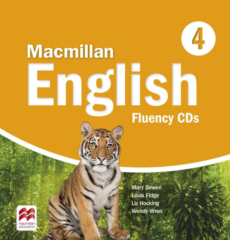 Macmillan English Level 4 Fluency Book Audio CD  (2)