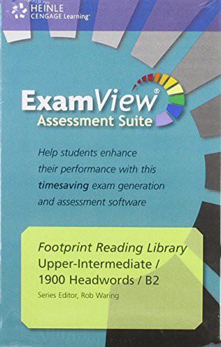 Footprint Reading Library 1900 - Examview Cd-rom (x1)