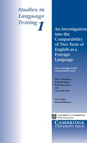 Investigation into the Comparability of Two Tests of English as a Foreign Language, An Paperback