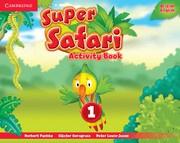 Super Safari British English Level1 Activity Book