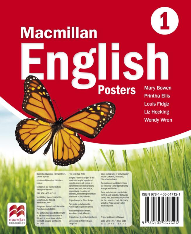 Macmillan English Level 1 Posters