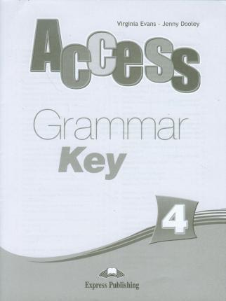 Access 4 Grammar Book Key (international)