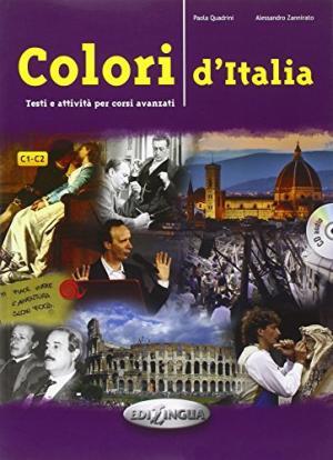 Colori d'Italia + audio-cd