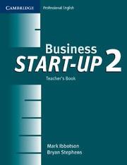 Business Start-up Level2 Teacher's Book